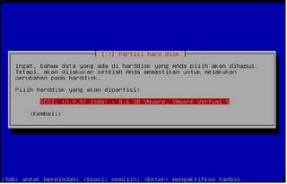 Langkah langkah Menginstal Linux Debian